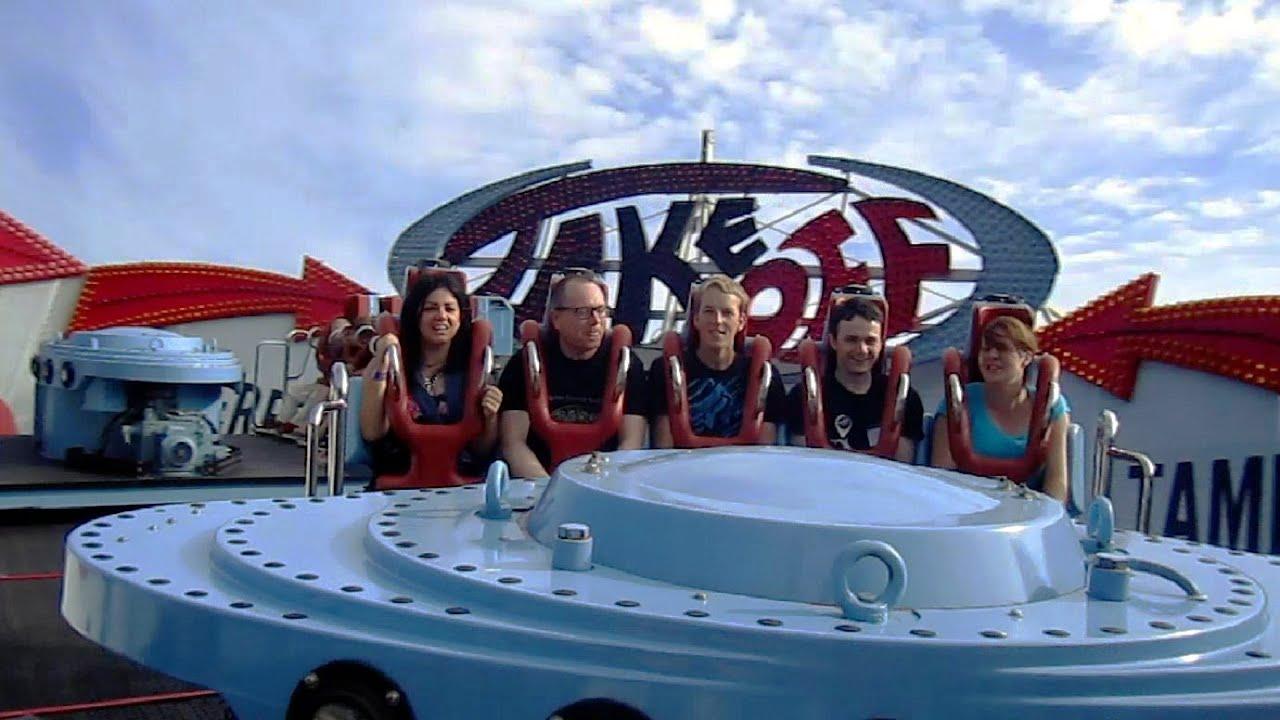 Take Off on-ride HD POV Särkänniemi Amusement Park