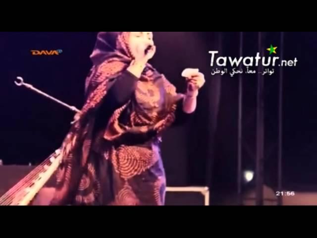 وصلة موسيقية مع الفنانة منى بنت دندني- قناة دافا