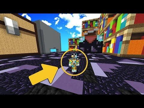 EL MAPA MAS GRANDE DE MINECRAFT | PARKOUR INVISIBLE