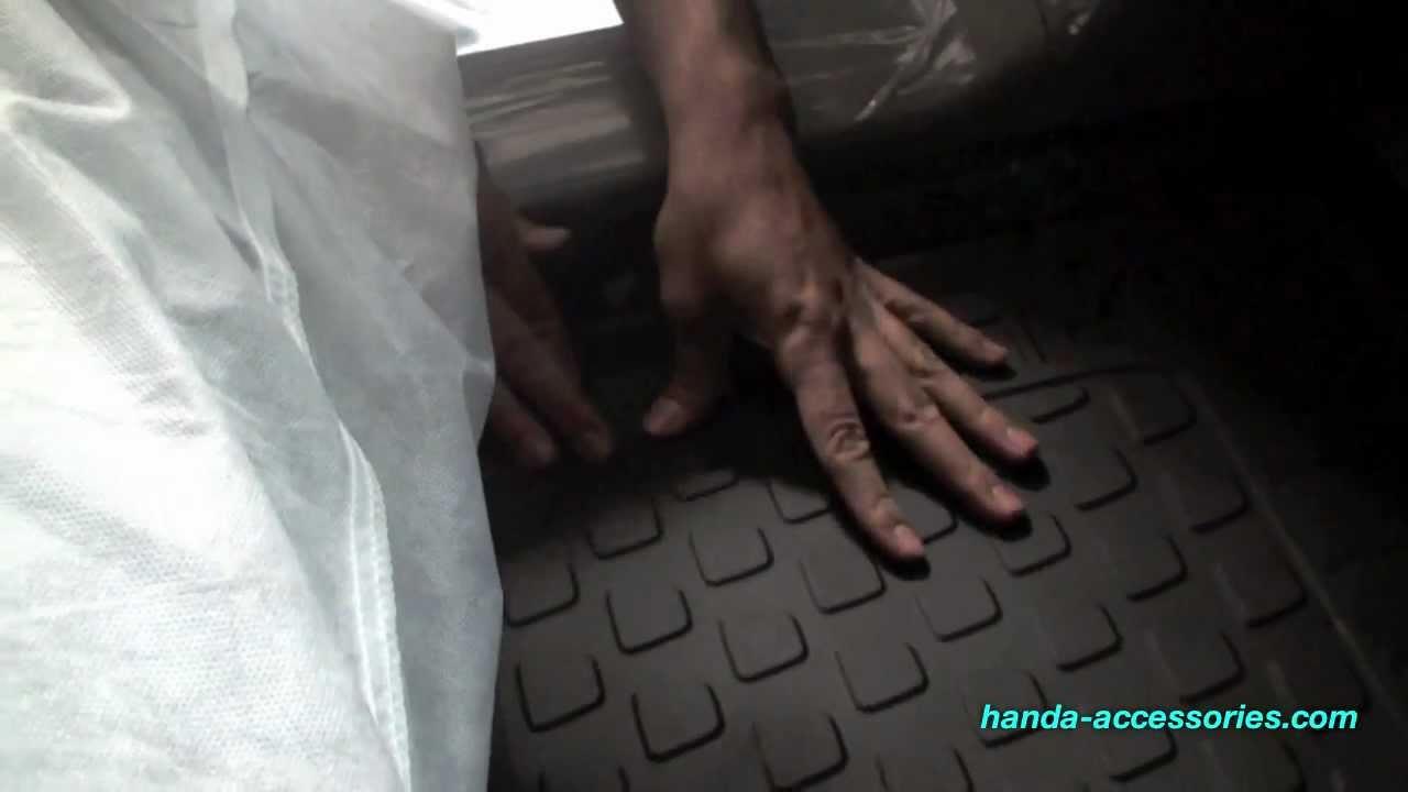 Honda Pilot Floor Mats Installation (Honda Answers #43)