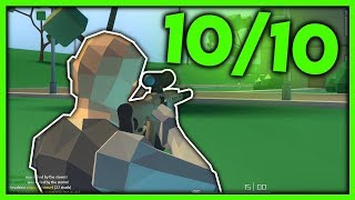 THE 10/10 BATTLE ROYALE GAME on ROBLOX...