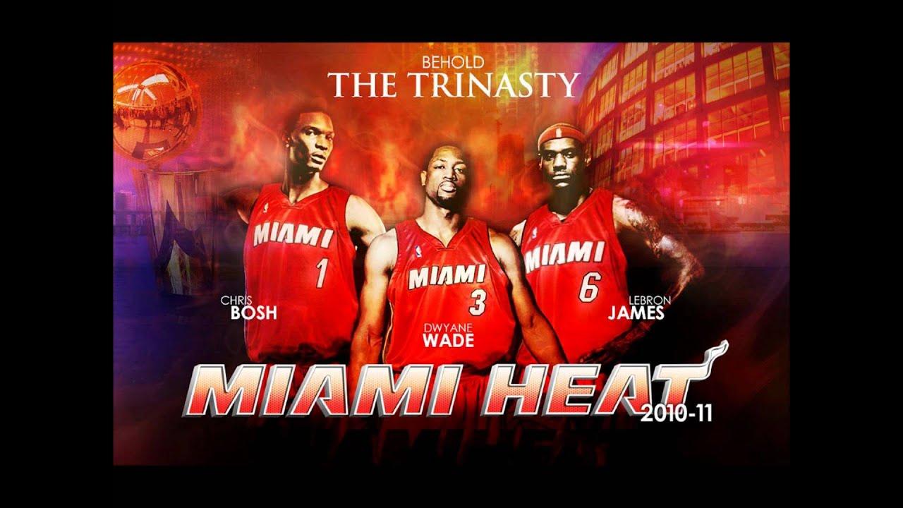 Miami heat the big 3 wallpapers youtube miami heat the big 3 wallpapers voltagebd Image collections
