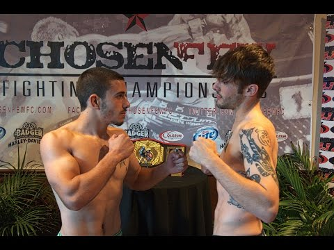 Chosen Few Fighting Championship Jon Morrison Vs. Jesse Fisher