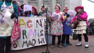 Video Women's March on Madison: Raging Grannies download MP3, 3GP, MP4, WEBM, AVI, FLV Juni 2018