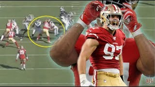 Film Study: The San Francisco 49ers defensive line is playing at an elite level