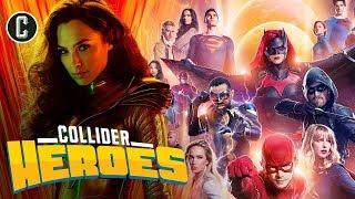Wonder Woman 1984 Trailer is Totally Tubular; Crisis on Infinite Earths Begins! - Heroes