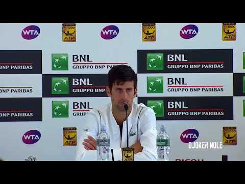 "Novak Djokovic ""It is not the secret..."" - Rome 2018 (HD)"
