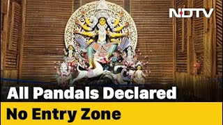 Durga Puja: Puja Organisers To Seek Review Of 'Pandals No-Entry Zones' Order Today