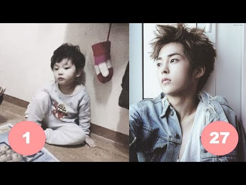 Xiumin EXO Childhood | From 1 To 27 Years Old