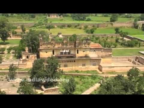 A bird's eye view of Orchha