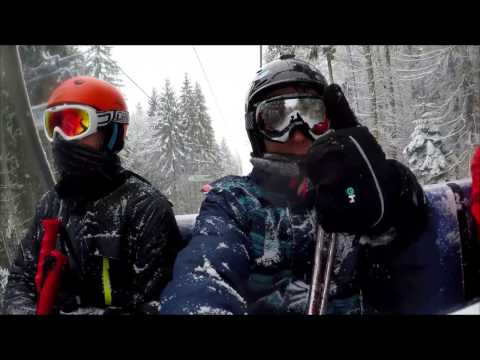 Skiing in Ukraine, Bukovel resort (2017)