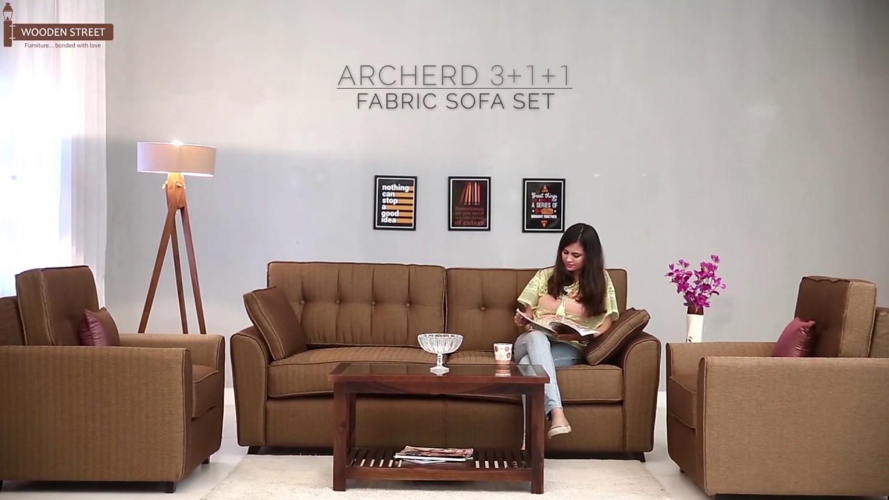 Sofa Set: Buy Archerd Sofa Set 9+9+9 Online at Lowest Price @ Wooden Street