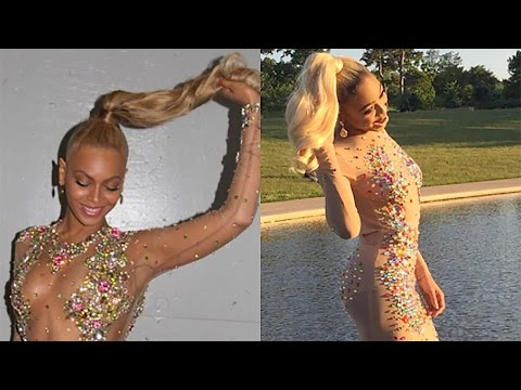 Girl Creates & Wears Copy of Beyonce's 2015 Met Gala Dress To Her Prom
