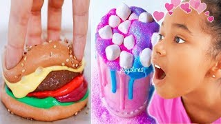 Ne pas dire WOW Slime FOOD Challenge !! (Tu vas perdre) - Oddly Satisfying Video Compilation
