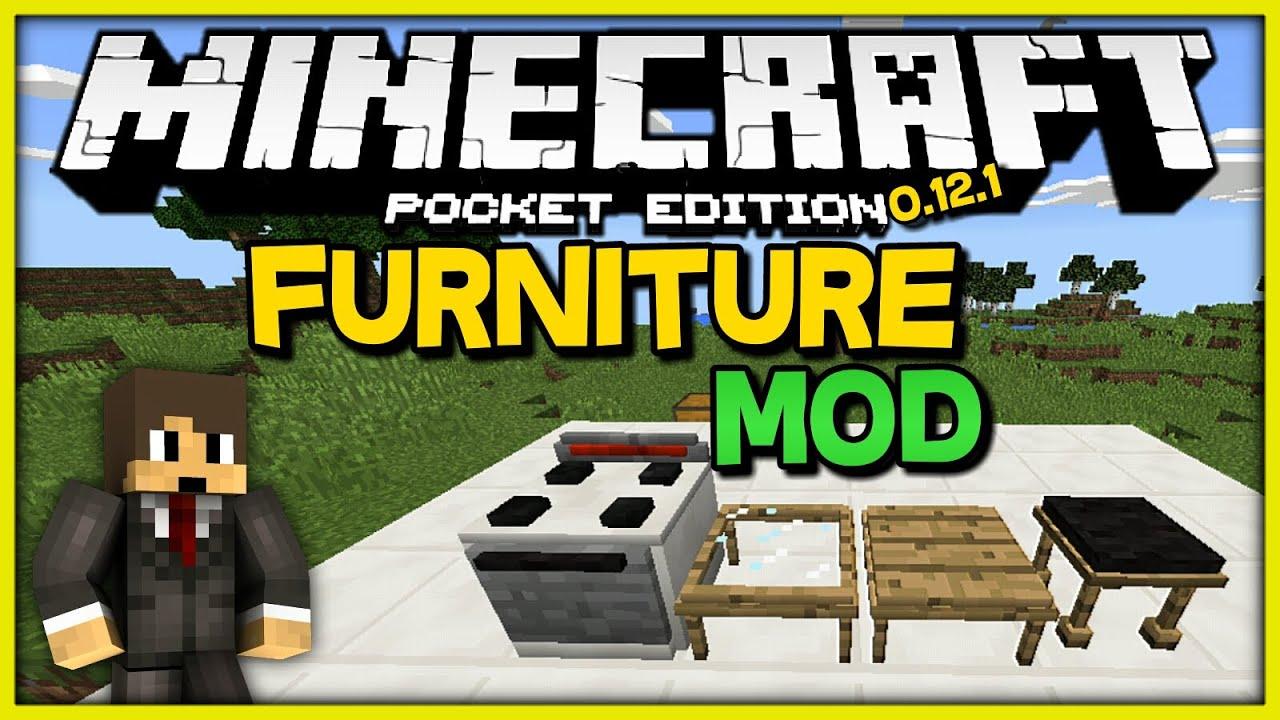 Furniture Mod Mods Para Minecraft Pe 0 12 1 Descarga