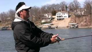 Pro Jerkbait Patterns on Lake of the Ozarks with Megabass
