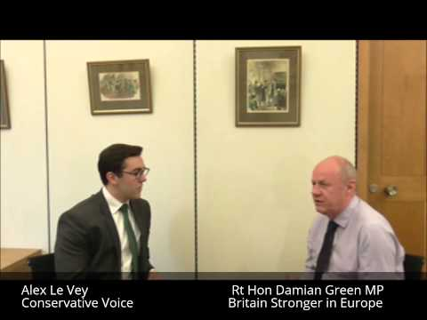 Interview with Britain Stronger in Europe Board Member the Rt Hon Damian Green MP