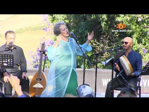 Le360.ma • Concert Houria Aichi au Chellah