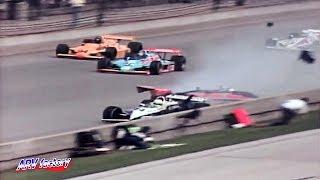 [Reediting]  Kevin Cogan, Crash at Start of 1982 Indy 500