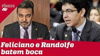 Feliciano pede que espanquem Randolfe nas redes sociais