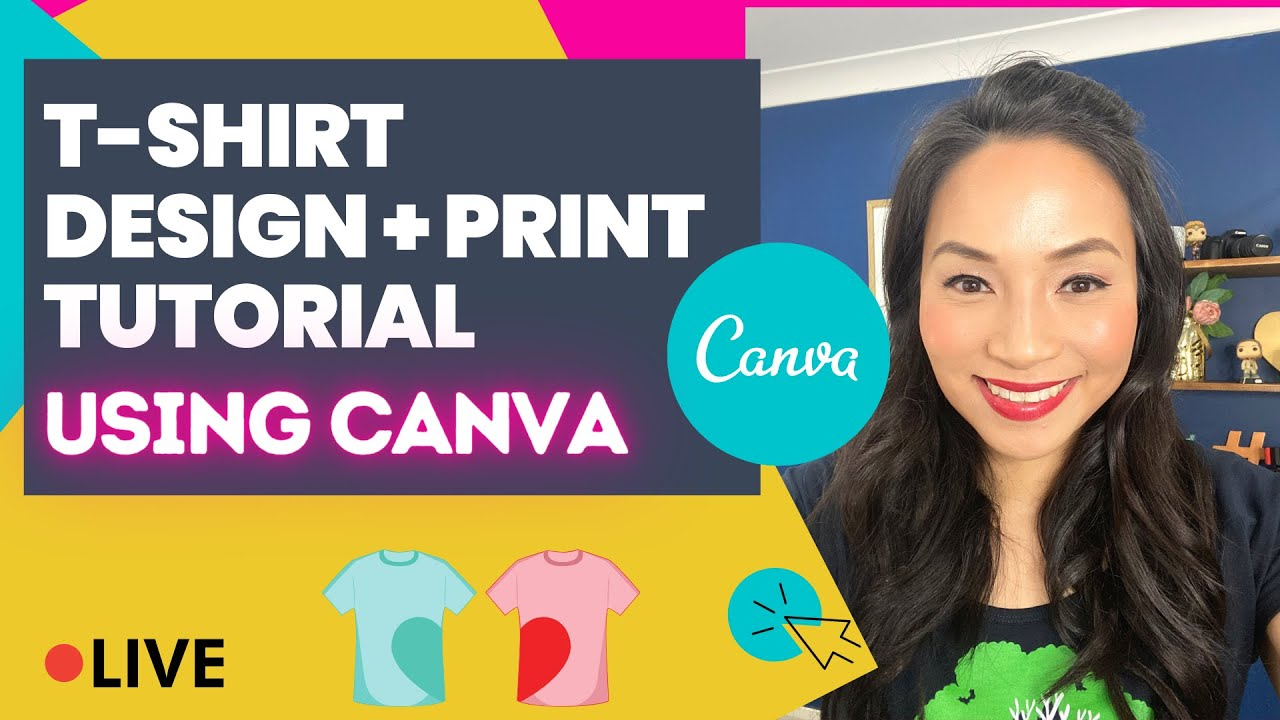 How To Create T Shirt Designs On Canva