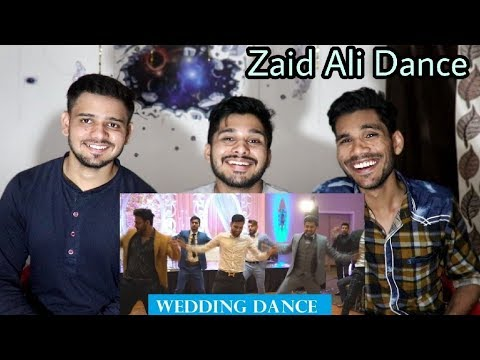I Dance At My Friends Wedding   Zaid Ali & Dhoom Bros   Indian Reaction.