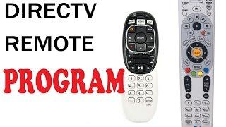How to program Directv remote RC73&65