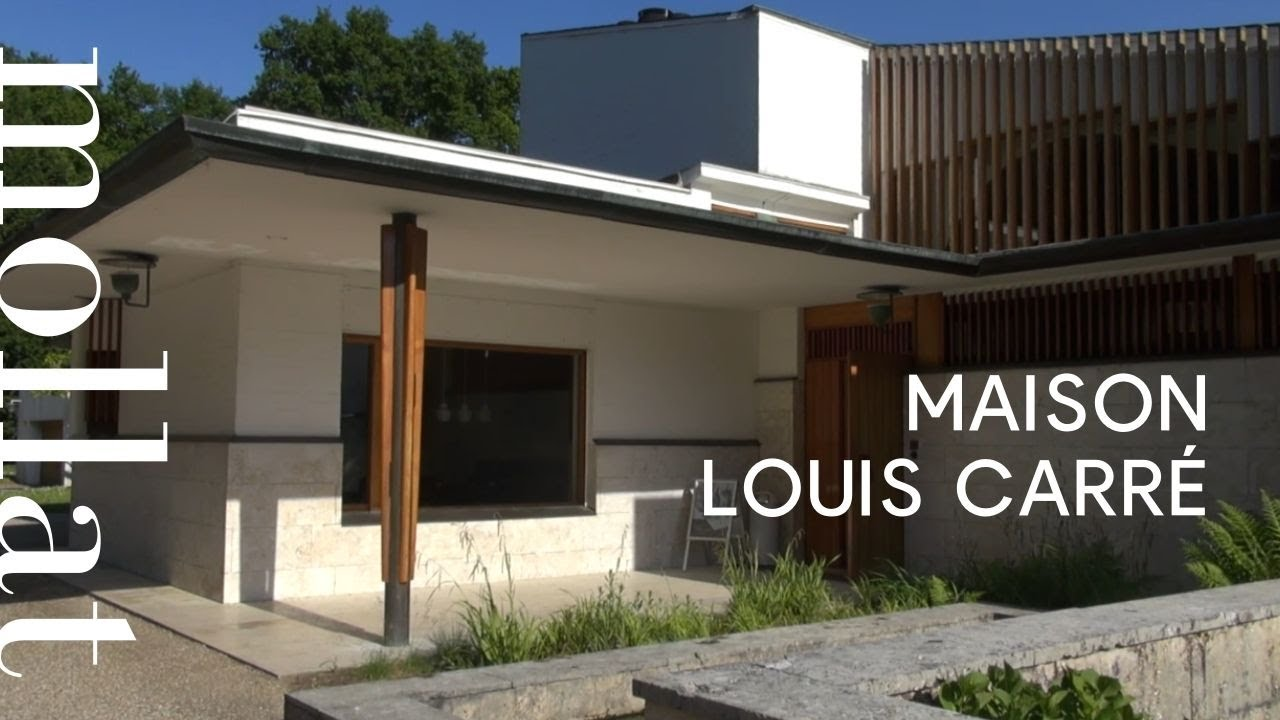 Maison Louis Carré - Alvar Aalto - YouTube