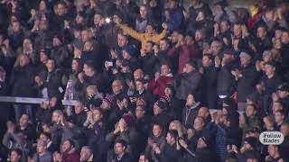 Blades applaud the supporters