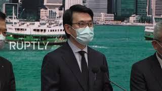 Hong Kong: Commerce Sec. Slams US Decision To Label HK Goods As \