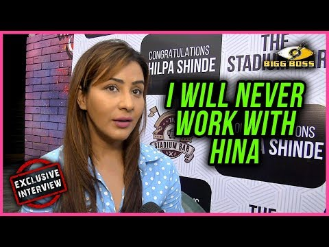 Shilpa Shinde Will Not WORK With Hina Khan Ever | EXCLUSIVE Interview