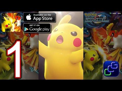 Pokémon Duel Android iOS Walkthrough - Gameplay Part 1