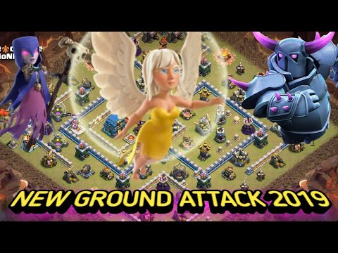 OMG!! AWESOME  STRATEGY ATTACK - QW + PEKKA BOWLER WITCH SMASHES TH12 - 3 STAR (CLASH OF CLANS)