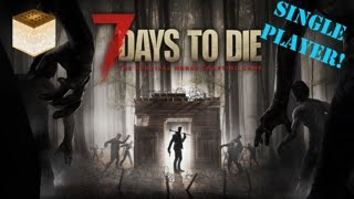 7 Days To Die Alpha 15: - Lets Play - E3: Ostrich Hotel Secret Loot & Mining