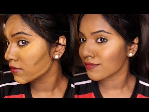 HOW TO CONTOUR BROWN INDIAN SKIN FOR BEGINNERS   NIKKI CHARMS