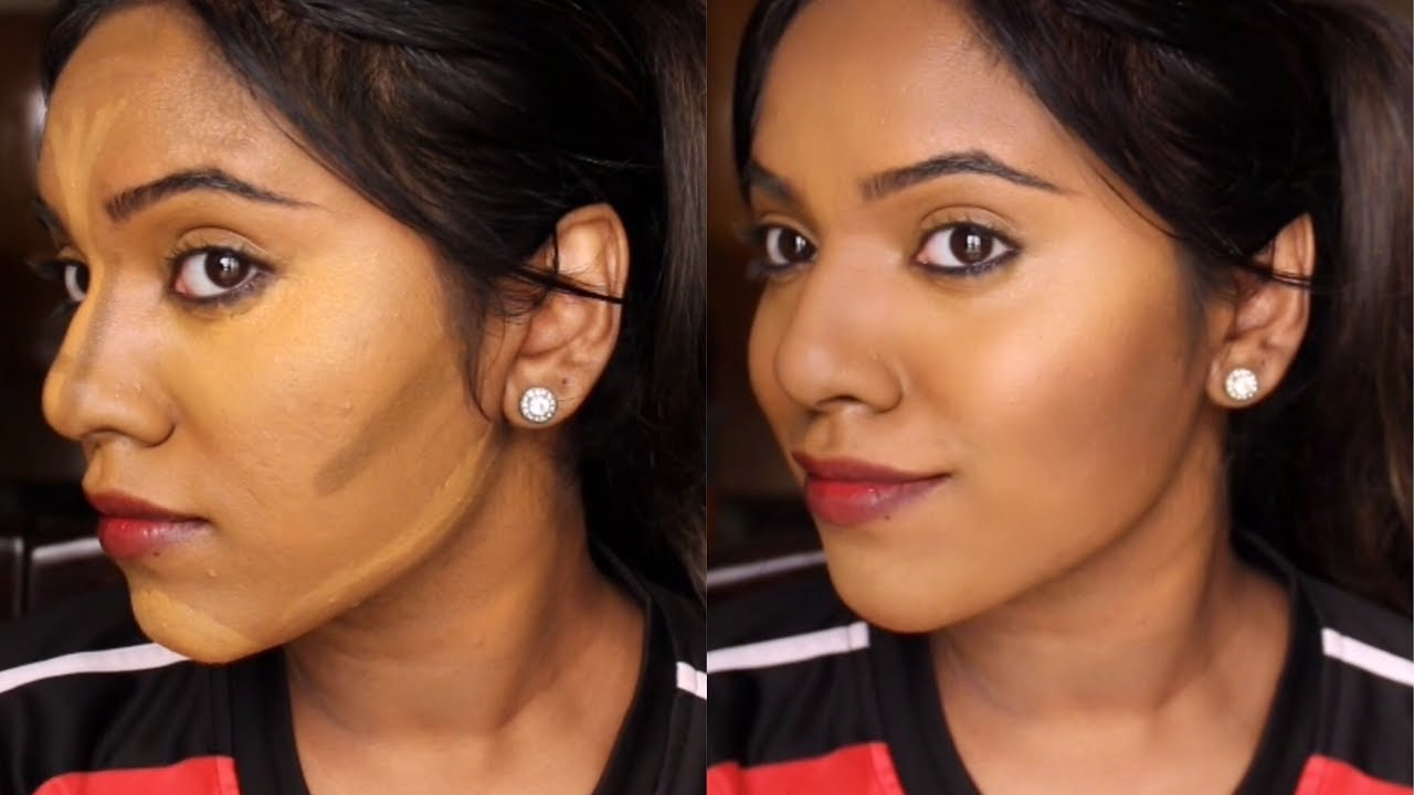 Download HOW TO CONTOUR BROWN INDIAN SKIN FOR BEGINNERS | NIKKI CHARMS
