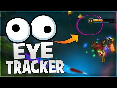 WHERE DO PRO PLAYERS LOOK ON SCREEN? (Eye Tracker)