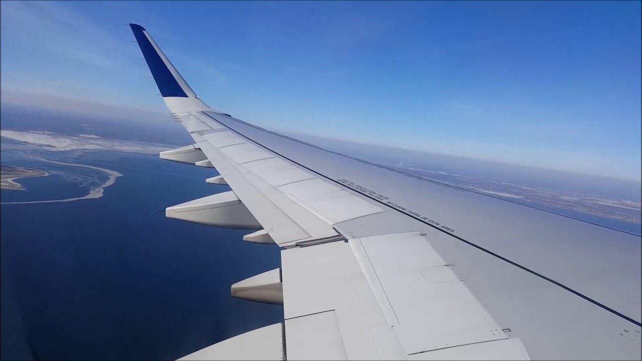 Jetblue A321 West Palm Beach New York Jfk Takeoff Landing