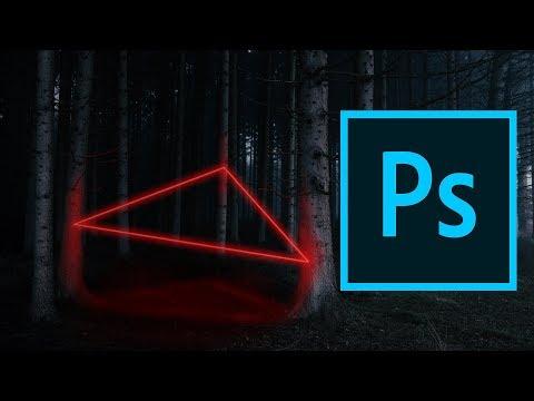 Как сделать неоновое свечение в Adobe Photoshop |  фотошоп уроки