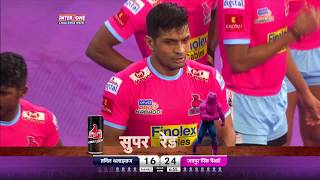Pro Kabaddi 2018 | Tamil Thalaivas vs Jaipur Pink Panthers | Match Highlights | HINDI