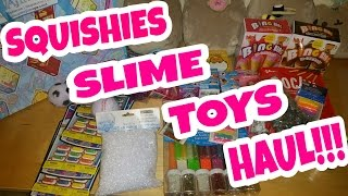 SQUISHIES, SLIME & TOY HAUL AT MICHAELS AND MORE VLOG |COLLAB W/ SEDONA FUN KIDS TV|