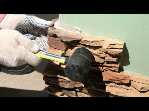 Инструкция по укладке искусственного камня
