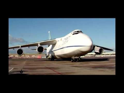 Antonov Timelapse en Aeropuerto de Carrasco