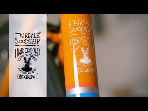 Fairdale Bikes / Goodship (Orange and Electric Blue)