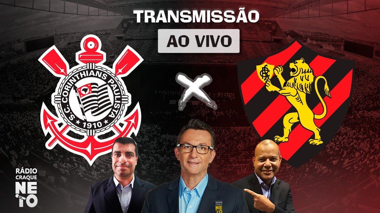 Corinthians x Sport | AO VIVO | Campeonato Brasileiro 2021 | Rádio Craque Neto
