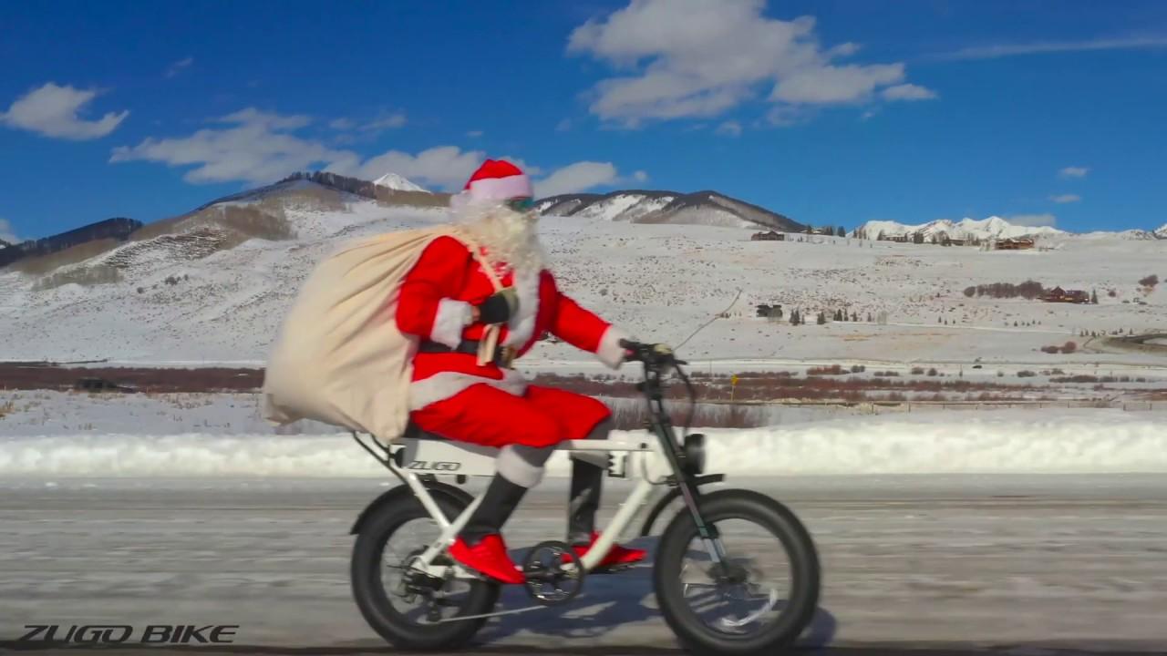 Santa Makes Deliveries On Zugo Electric Bike Youtube