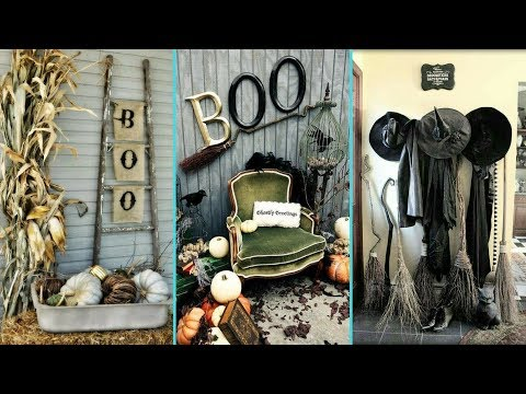 ❤ DIY Shabby chic style  Halloween decor Ideas ❤ | Home decor & Interior design| Flamingo Mango|