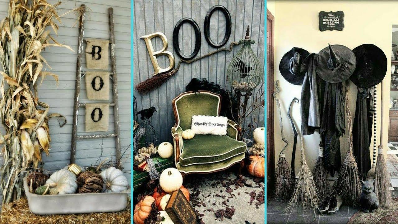 Diy Shabby Chic Style Halloween Decor Ideas Home Decor Interior Design Flamingo Mango