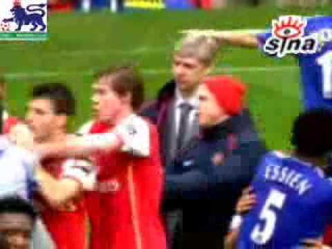 Arsenal vs Chealsea FIGHT!