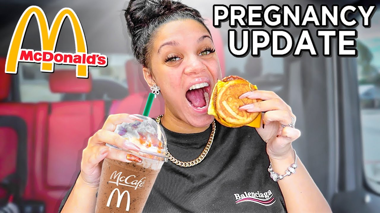 Im Having Signs Of Early Labor | Mcdonalds Breakfast Mukbang
